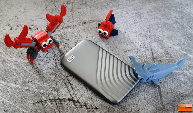 WD MY Passport 2020 with Lego Crab People