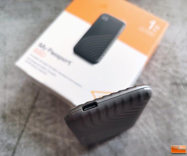WD My Passport SSD 2020 USB Type-C Connector