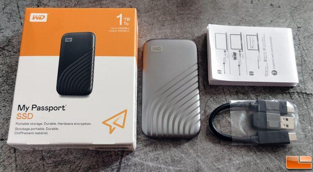 WD My Passport SSD 2020 Accessories