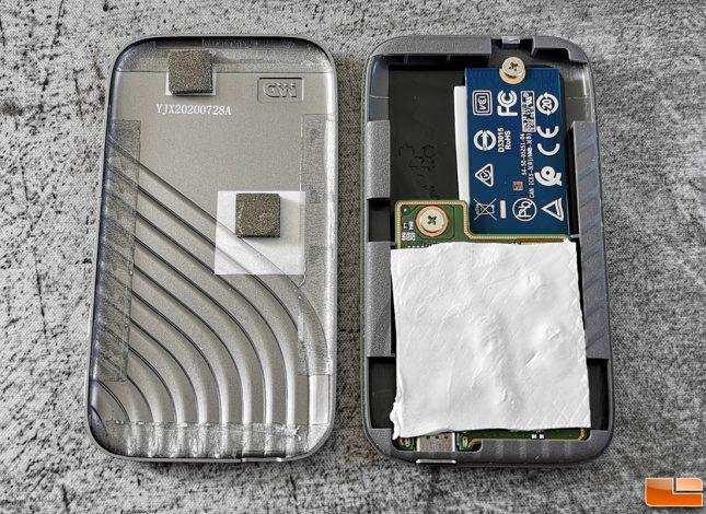 WD My Passport 2020 Portable SSD PCB Inside Circuit Board