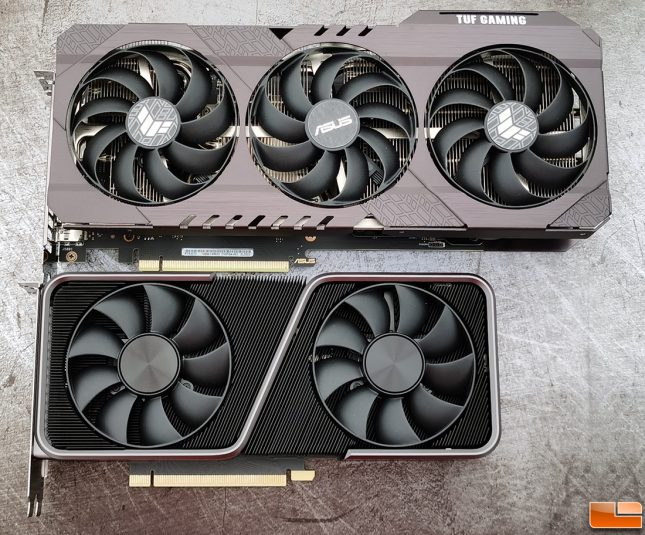 ASUS TUF Gaming GeForce RTX 3070 with 3070 Founders Edition