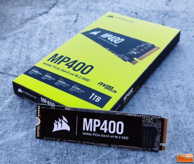 Corsair MP400 1TB NVMe SSD