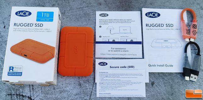 Lacie Rugged SSD 1TB Portable Drive