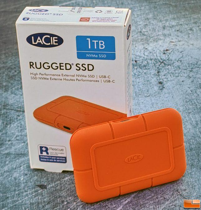 Lacie Rugged SSD NVMe 1TB Storage Drive