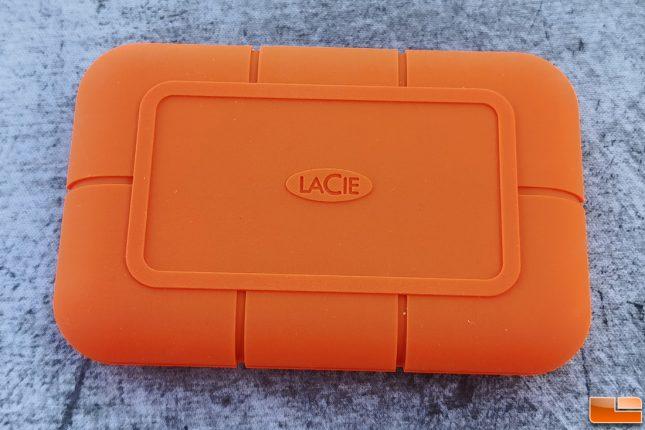 Lacie Rugged SSD 1TB Portable Drive Orange