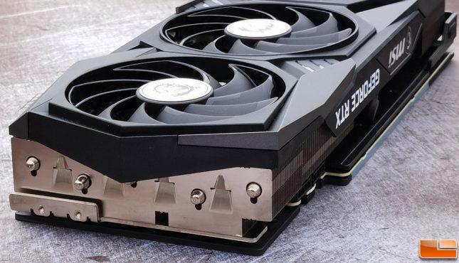 MSI GeForce RTX 3070 GAMING X TRIO 8GB Graphics Card End