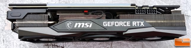 MSI GeForce RTX 3070 GAMING X TRIO 8GB Graphics Card Top