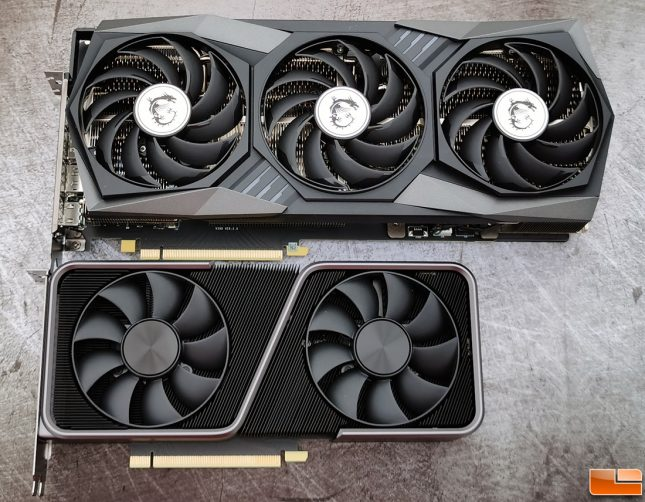 MSI GeForce RTX 3070 GAMING X TRIO 8GB Graphics Card with 3070 Founders Edition