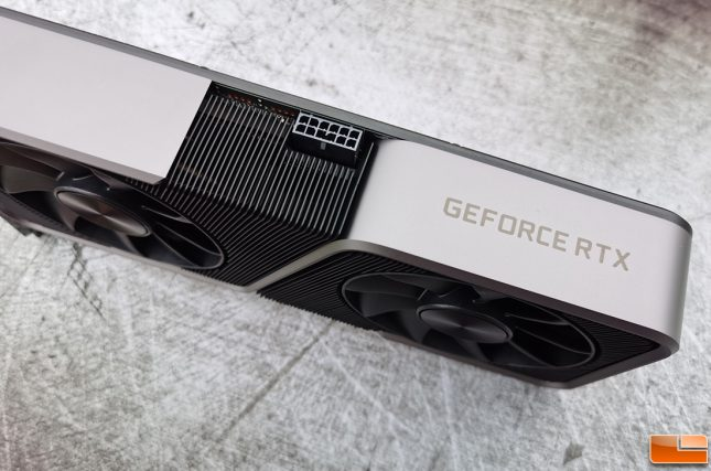 NVIDIA GeForce RTX 3070 Founders Edition 12-pin power connector