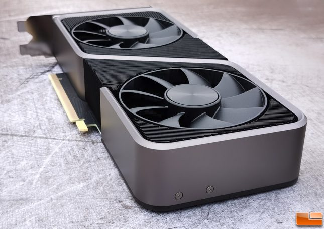 NVIDIA GeForce RTX 3070 Founders Edition Bottom End