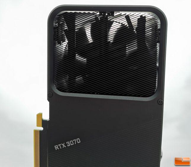 NVIDIA GeForce RTX 3070 Founders Edition GPU Cooler