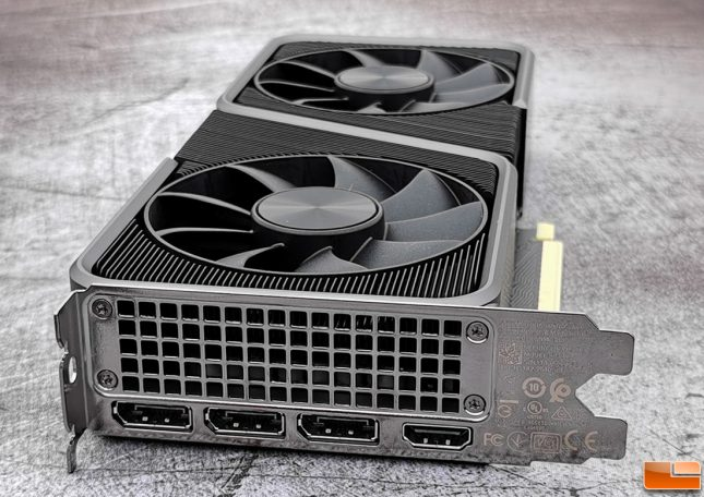 NVIDIA GeForce RTX 3070 Founders Edition Video Outputs