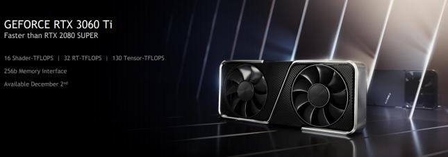 GeForce RTX 3060 Ti Marketing Slide