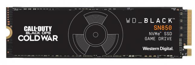 CoD WD_BLACK SN850 Gen4 SSD