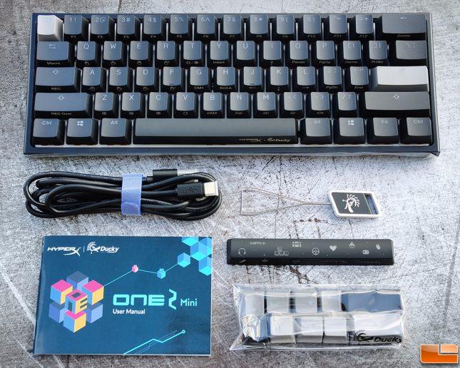 HyperX x Ducky One 2 Mini Limited Edition Keyboard Accessories