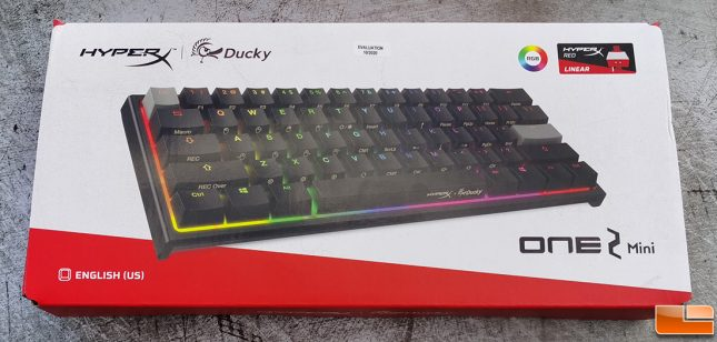HyperX x Ducky One 2 Mini Limited Edition Keyboard