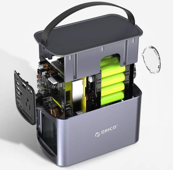 ORICO Portable Power Station Inside