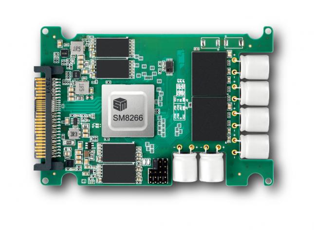 SM8266 PCIe Gen4x4 Enterprise SSD Controller