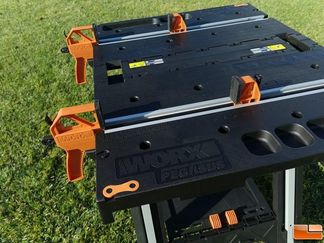 WORX Pegasus WX501 Portable Worktable Clamps