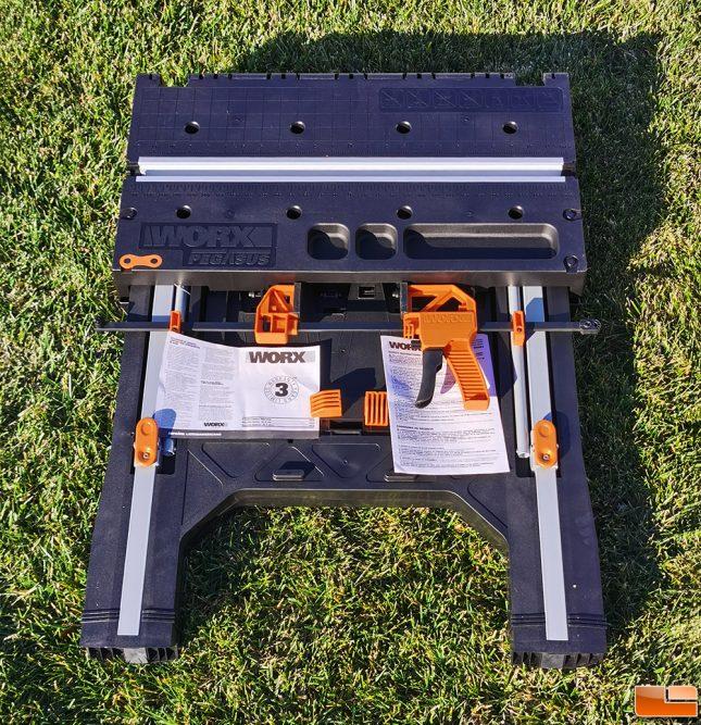 WORX Pegasus WX501 Portable Warranty