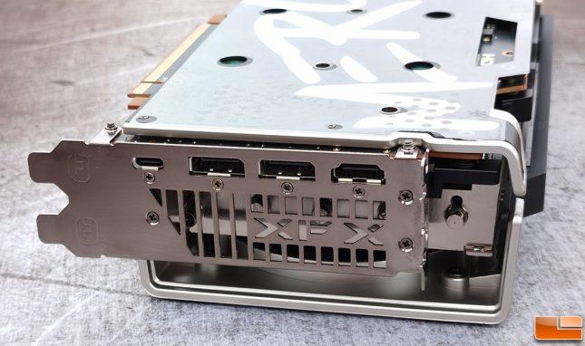 XFX Speedster MERC319 Radeon RX 6800 XT Display Connectors