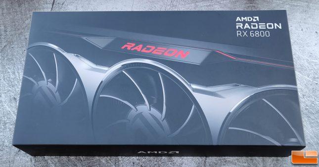 AMD Radeon RX 6800 Retail Box