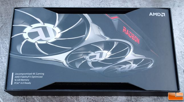 AMD Radeon RX 6800 Retail Box Feature List