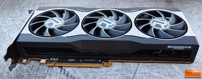 AMD Radeon RX 6800 Graphics Card Bottom