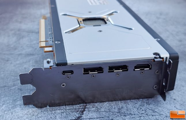 AMD Radeon RX 6800 Display Outputs