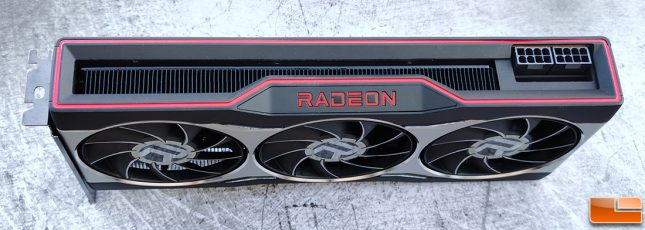 AMD Radeon RX 6800 Video Card Top
