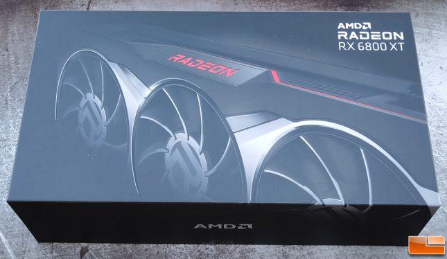 AMD Radeon RX 6800 XT Retail Box