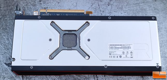 AMD Radeon RX 6800 XT Backplate
