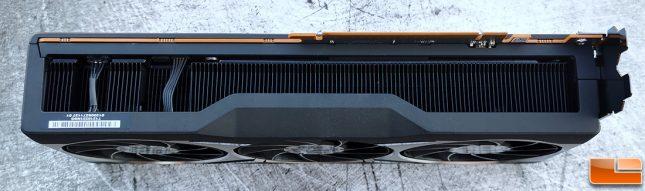 AMD Radeon RX 6800 XT Video Card Bottom