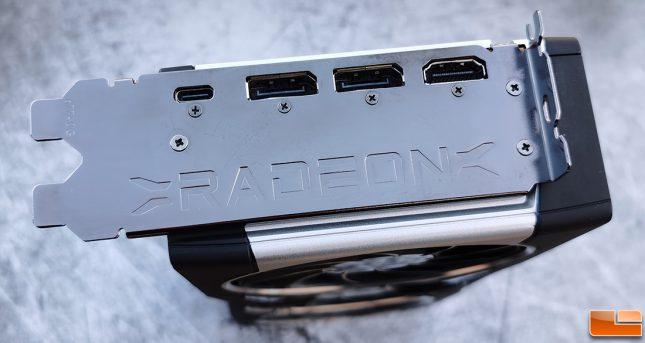 AMD Radeon RX 6800 XT Display Outputs
