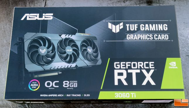 ASUS TUF Gaming GeForce RTX 3060 Ti Graphics Card