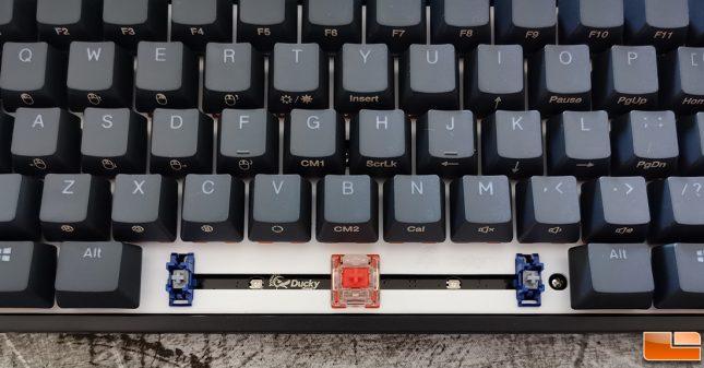 HyperX x Ducky One 2 Mini Keyboard Switches