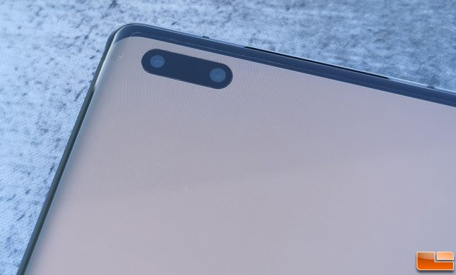 Huawei Mate 40 Pro Front Cameras