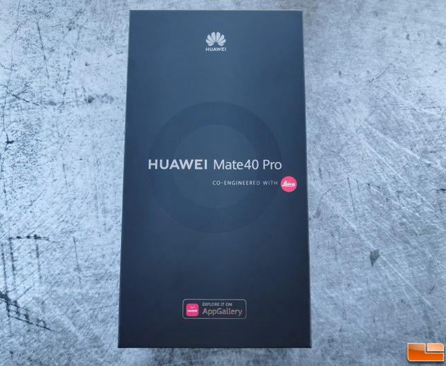Huawei Mate 40 Pro Retail Box