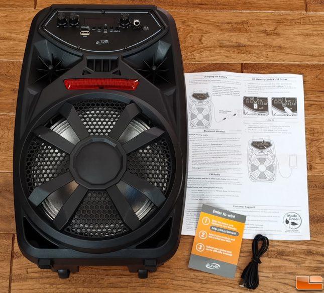 iLive ISB380B Tailgate Speaker