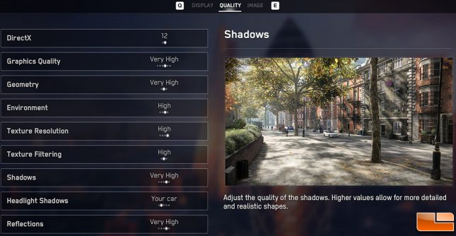 Watch Dogs Legion Very High Image Quality Settings