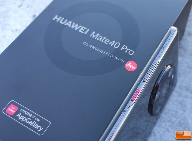 Mate 40 Pro by Huawei Power Button