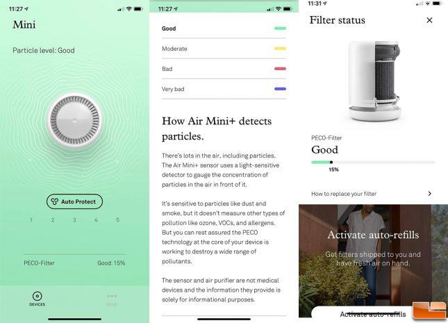 Molekule Air Mini Plus App