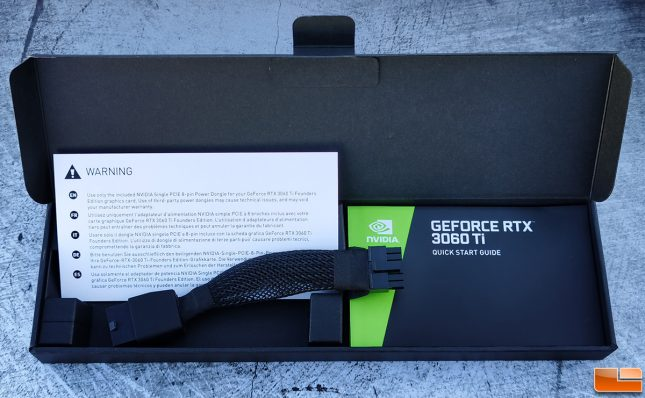 NVIDIA GeForce RTX 3060 Ti Founders Edition 12-pin PCIe Power Connector