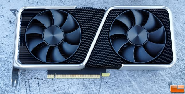 NVIDIA GeForce RTX 3060 Ti Founders Edition Front