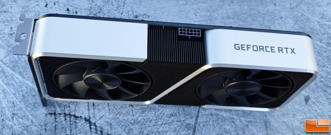NVIDIA GeForce RTX 3060 Ti Founders Edition Top
