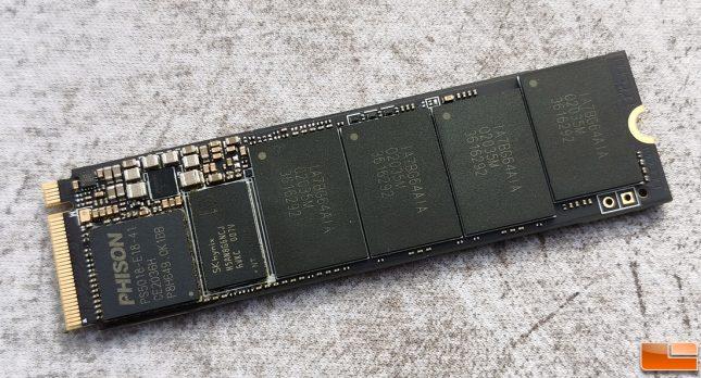 Phison E18 2TB SSD Development Board