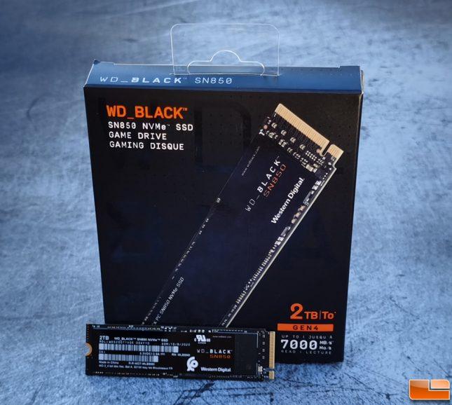 WD Black SN850 PCIe Gen4 NVMe Game Drive