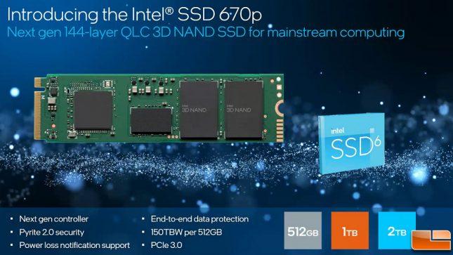 Intel Client Slide 3 - Intel SSD 670p