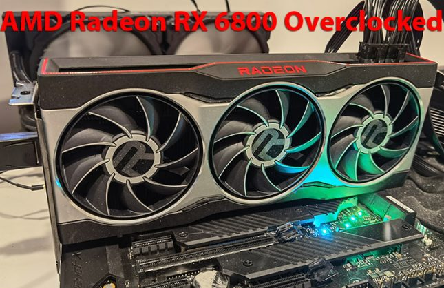 AMD Radeon RX 6800 Overclocking