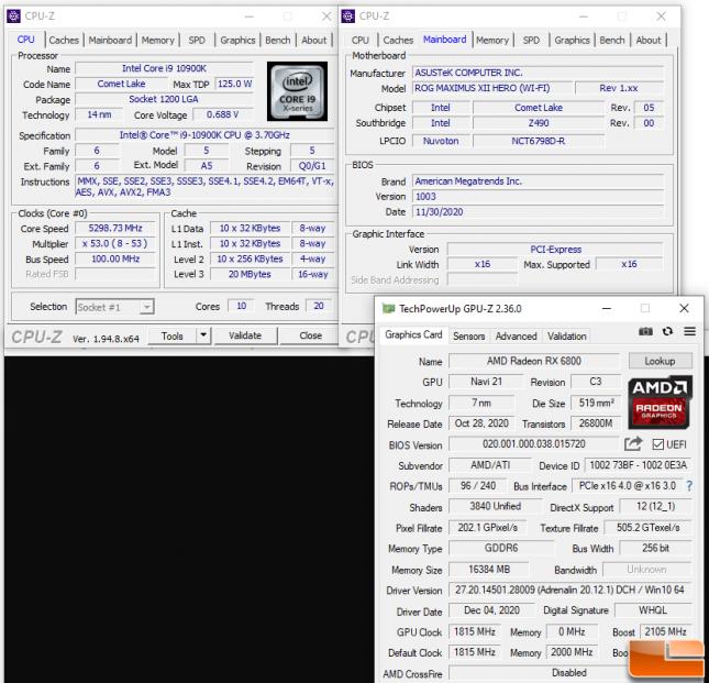 AMD SAM on Intel Z490 Motherboard